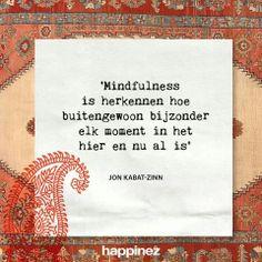geniet met aandacht en aanwezigheid van het moment! #Mindfulness