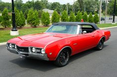 1968 OLDSMOBILE 442 CONVERTIBLE Click to Find out more - http://fastmusclecar.com/1968-oldsmobile-442-convertible/