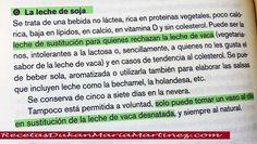 Leche Dukan Ataque: leche de soja, leche de almendra y otras