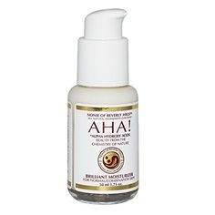 AHA Brilliant Moisturizer For Dry  Oily or Combination Skin With Alpha Hydroxy Acids From Fruit Organic Vinegar Coconut Oil The Leading Brand In Anti Aging Skin Care Exfoliating Moisturizer By Nonie Of Beverly Hills 175oz Durable Glass Bottle >>> Learn more by visiting the image link.