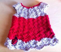 Ladybird dress/top by LooplaCrochet on Etsy