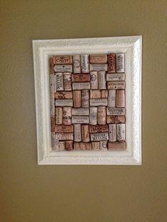 Wine cork board :-)