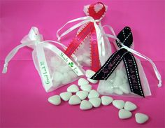 Find Personalized Favor Ribbon & Chocolate Hearts Candy Combo Kit at Wholesale Favors, along with other wedding favors and personalized gifts. Unique Party Favors, Inexpensive Wedding Favors, Candy Wedding Favors, Personalized Ribbon, Personalized Wedding Favors, Personalized Christmas Gifts, Bridal Shower Planning, Bridal Shower Favors, Wedding Planning