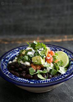 Black Bean Burrito Bowl Recipe | Simply Recipes