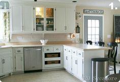 Best Small Kitchen Design Ideas - Decorating Solutions for Small Space