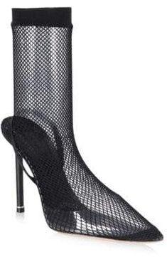 2d1f58d9ffae Balenciaga Animal-Print Booties. #boots #womensfashion ...
