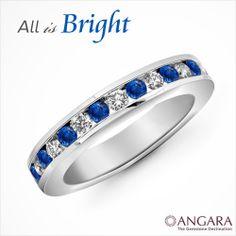 Bright & Blue #angara #holidaygift