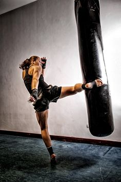 Kick boxing....well we have lot of this girls in my team!!