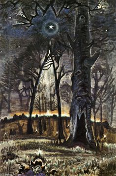 Charles Burchfield, Star Lit Woods