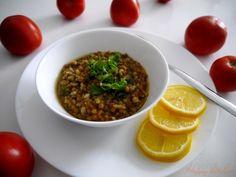 Леща с ориз и спанак на гъсто - Ricetta e preparazione: cucina salutare e vegetariana - Tony's Happy Kitchen