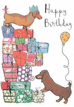 Doxie Birthday - Happy Birthday Funny - Funny Birthday meme - - Doxie Birthday The post Doxie Birthday appeared first on Gag Dad. Happy Birthday Dachshund, Happy Birthday Pictures, Happy Birthday Funny, Happy Birthday Quotes, Happy Birthday Greetings, Dog Birthday, Humor Birthday, Birthday Clips, Festa Party
