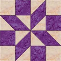 Shooting Star Block..... Easy to make and definitely  wanna use for a future quilt. Especially in these colors