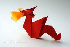 """Résultat de recherche d'images pour """"origami dragon"""""""