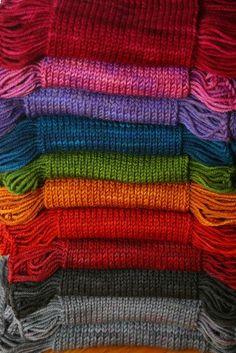 Rainbows:  #Rainbow knits, Ana Rosa.