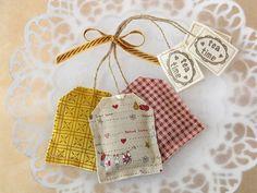 Tea bag with lavander