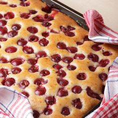This simple and impressive cherry cake recipe is very delicious and easy to make.