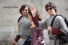 Bradley's started a trend of chainmail and sunglasses. Have to say I'm a fan ;)
