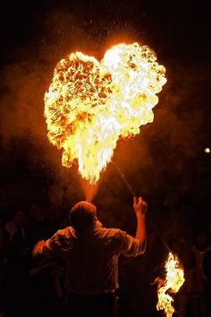Fire Heart  - Dmitry Berdnikov
