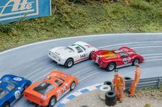 Porsche 906 Carrera Custom Slot Car hO Slot Car Racing, Slot Car Tracks, Race Cars, Afx Slot Cars, Slot Car Sets, Car Racer, Carrera, Vintage Toys, Diecast