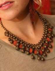 the clementine necklace