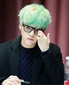 Suga with glasses is life ❤