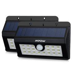 [2 Pack] 20 Lampe Solaire Jardin led sans fil, Mpow Luminaire Exterieur…