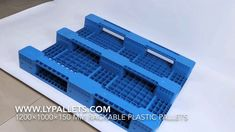 Plastic rackable pallets 48x40 from china - plastic pallets for pallet r...