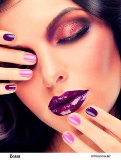 Orquídea Radiante en tu maquillaje