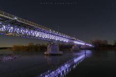Ponte sul Po by Mario Carminati on 500px