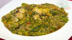 Nigerian Okra Soup (Obe ila) with Fresh Fish and Assorted Meat | Nigerian Food Recipes