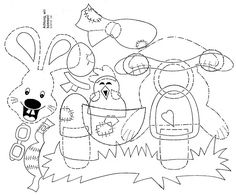 clown mouth coloring pages - photo#26