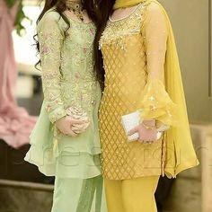 pakistani dresses Green Things g shock green color Pakistani Wedding Outfits, Pakistani Dresses, Indian Outfits, Wedding Dresses, Designer Party Wear Dresses, Kurti Designs Party Wear, Pakistani Dress Design, Pakistani Couture, Stylish Dresses