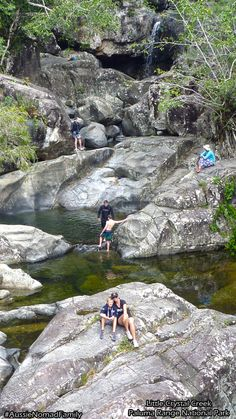 Little Crystal Creek - Paluma Range National Park - Townsville - Queensland - Australia