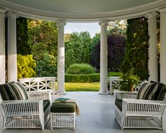 New Canaan Porch And Terrace, Outdoor Dining, Outdoor Decor, New Canaan, Architect Design, Outdoor Furniture Sets, Pergola, Exterior, Outdoor Structures