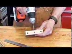 Dowel Jig: Simple, Cheap, Nothing To Lose with this Homemade Doweling Jig - YouTube