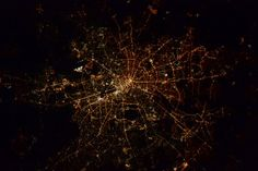 NASA Berlin at night