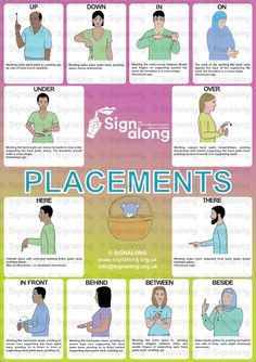 Placement Poster, J) Posters, Signalong Store