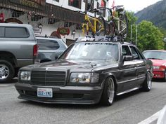 Mercedes Benz W126 500SE on AMG Aero I