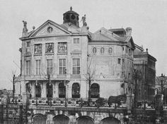 Bürgertheater, 3rd district. Built in 1905. Demolished 1960. Kaiser Franz, Scenery Pictures, Austro Hungarian, Vienna Austria, Medieval, Places To Visit, Louvre, Black And White, History