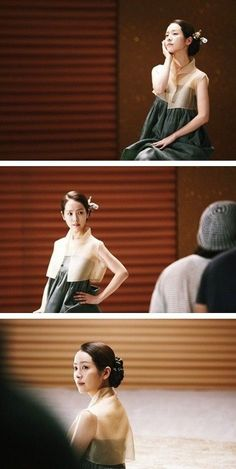 korean actress han jimin in modernized hanbok #hanbok