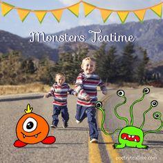 Monster Themed Teatime - Poetry Teatime
