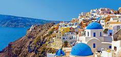The Greek isle, Santorini- Natural Vistas Category (Photo:   Bill Heinsohn, Alamy)