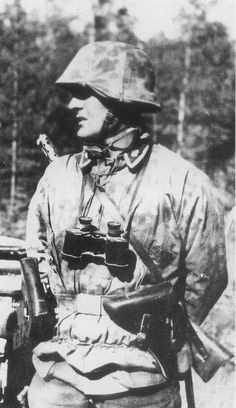 Soldier of the 3rd SS Panzer Division Totenkopf