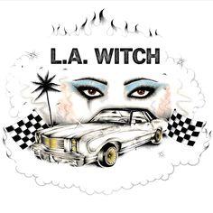 Na enkele losse singles maken de dames van L.A. Witch nu ook hun langspeeldebuut. Thematisch vat het zelfgetitelde album aan met een inte...