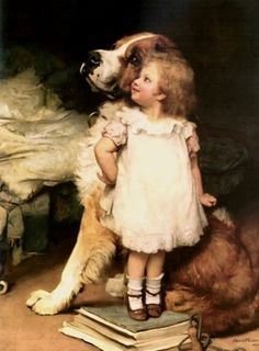 Elsley, Arthur John (b,1860)- I'se Biggest, I -2b {Duplicate Variation is in #1- this is original, other is painted porcelain)