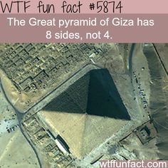 The Great pyramid of Giza - WTF fun facts