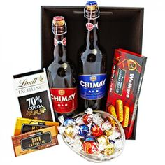 Belgian Beer Gift Tray - delivery to the Canada from the USA Walkers Cookies, Beer Online, Online Florist, Belgian Beer, Chocolate Sweets, Flowers Delivered, Gourmet Gifts, Beer Gifts, Order Flowers