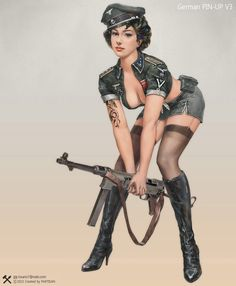 nazi pin up - Google zoeken