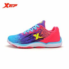3a005e0f162 Xtep Sports Shoes Women Breathable Trail Running Shoes Outdoor Athletic Shoes  Women Trainers Air Mesh Mesh