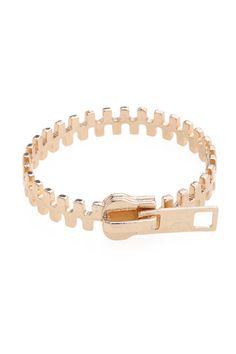 zipper #bracelet ///